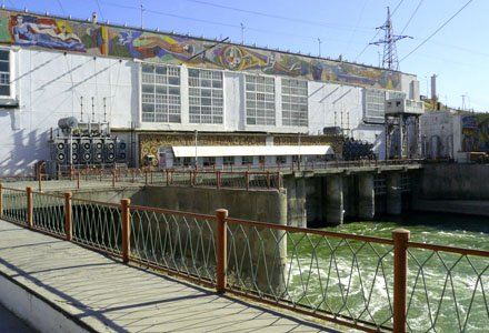 Shardarinskaya HPP is being upgraded at a cost of 38 billion tenge