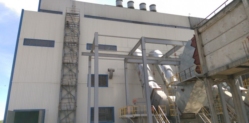 Reconstruction and expansion of CHP-2 in Almaty. III stage. Boiler unit of plant No.8